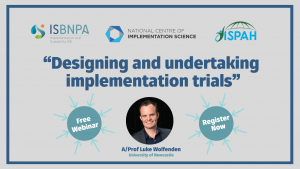 Webinar: SIG Implementation and Scalability (in partnership with ISPAH and NCOIS)