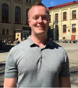 Student & ECR Spotlight – Dr. Christopher Holmberg is interested in researching lifestyle habits among patients with psychotic disorders